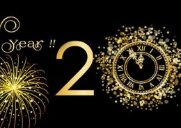 Happy new year 2016 clock fb cover